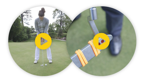 An example of some drills Hole More Putts can recommend