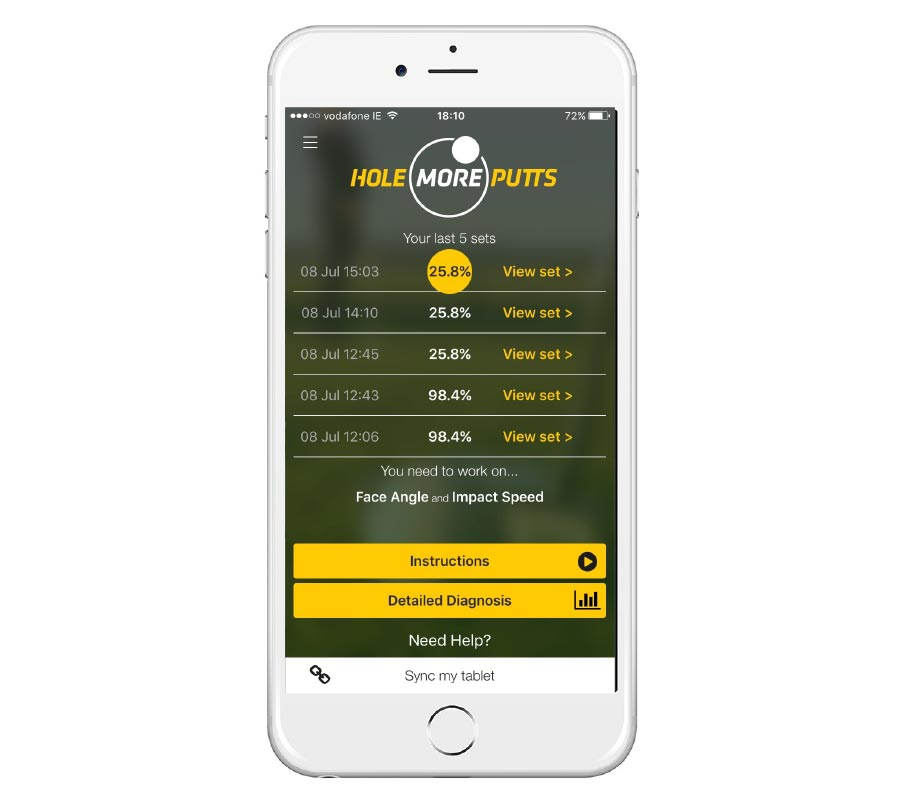 Hole More Putts iOS App